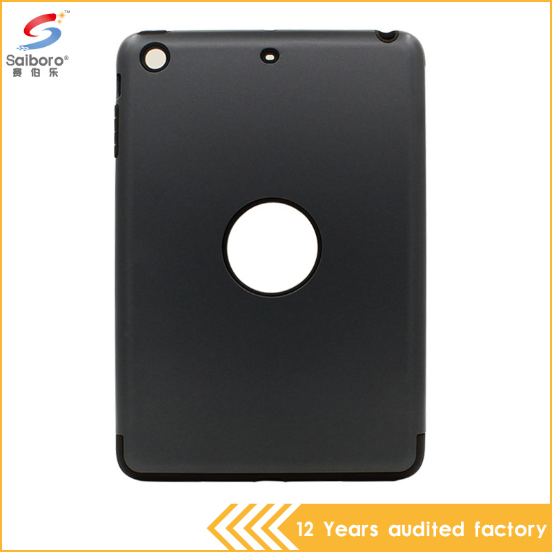 Hybrid tpu pc high quality multi-color shockproof case for ipad mini 2