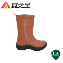 Genuine Leather work shoes safety high-cut boots