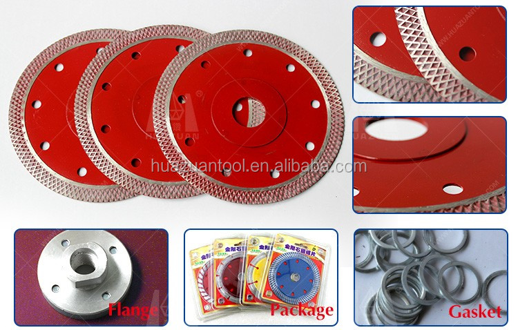 Mesh style diamond ceramic tile cutting blade disc by new design
