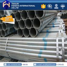 Multifunctional mill certificated seamless gi pipe furniture galvanized steel pipe with CE certificate