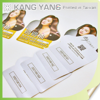 White PVC sticker Paper Of Glossy Adhesive Pop Up Label Sticker