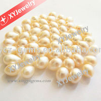 Drop Shape with Hole Cultured Fresh Water Pearl