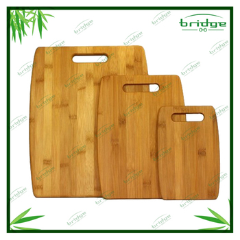 Healthy 3 piece Bamboo chopping board