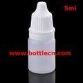 mini bottles 5ml empty plastic squeezable dropper eye liquid dropper new