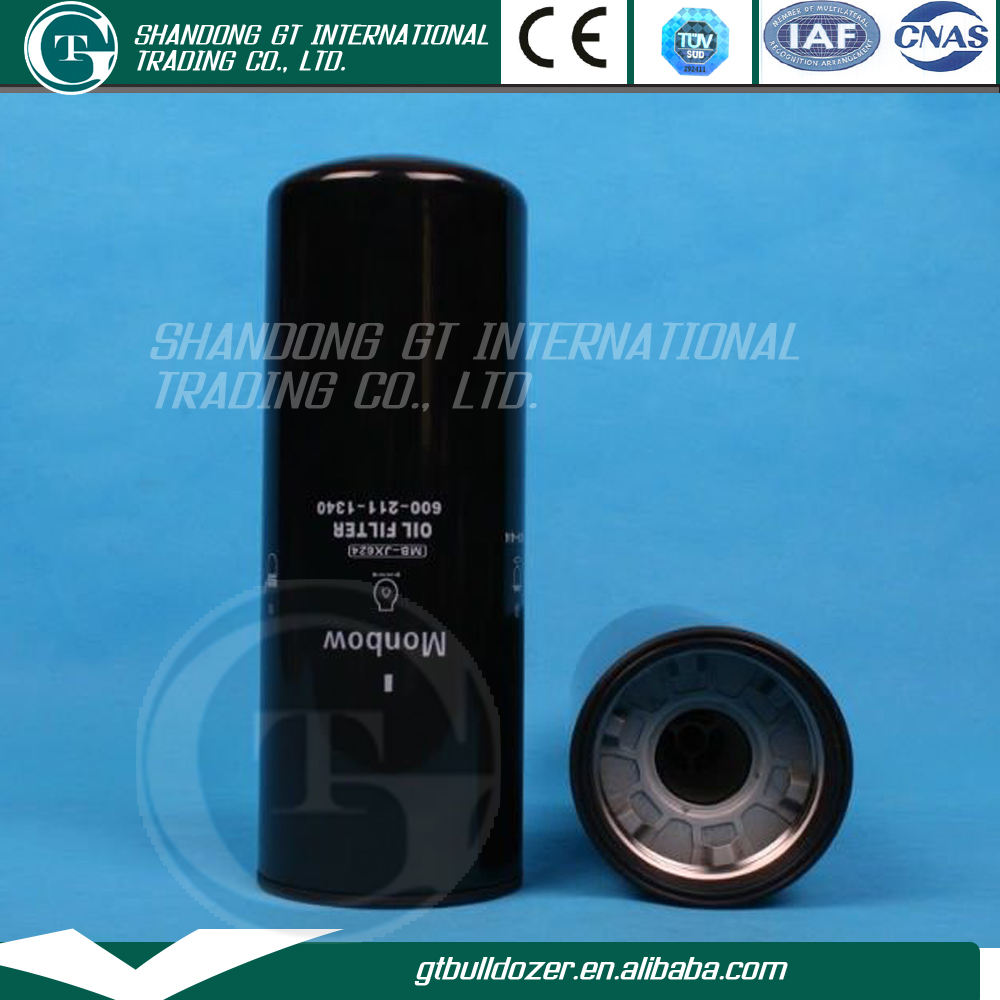 Excavator Digger Machine Parts Oil Filter Manufacturer PC400 600-211-1340 6002111340 Reference To Export