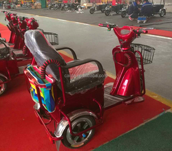 electric passenger tricycle three wheel disabled scooter /electric tricycle for adults