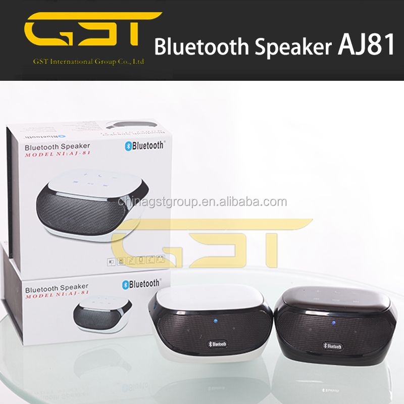 Bluetooth 3D sorround speaker AJ 81 with AUX TF card slot FM Radio and 1000mA battery