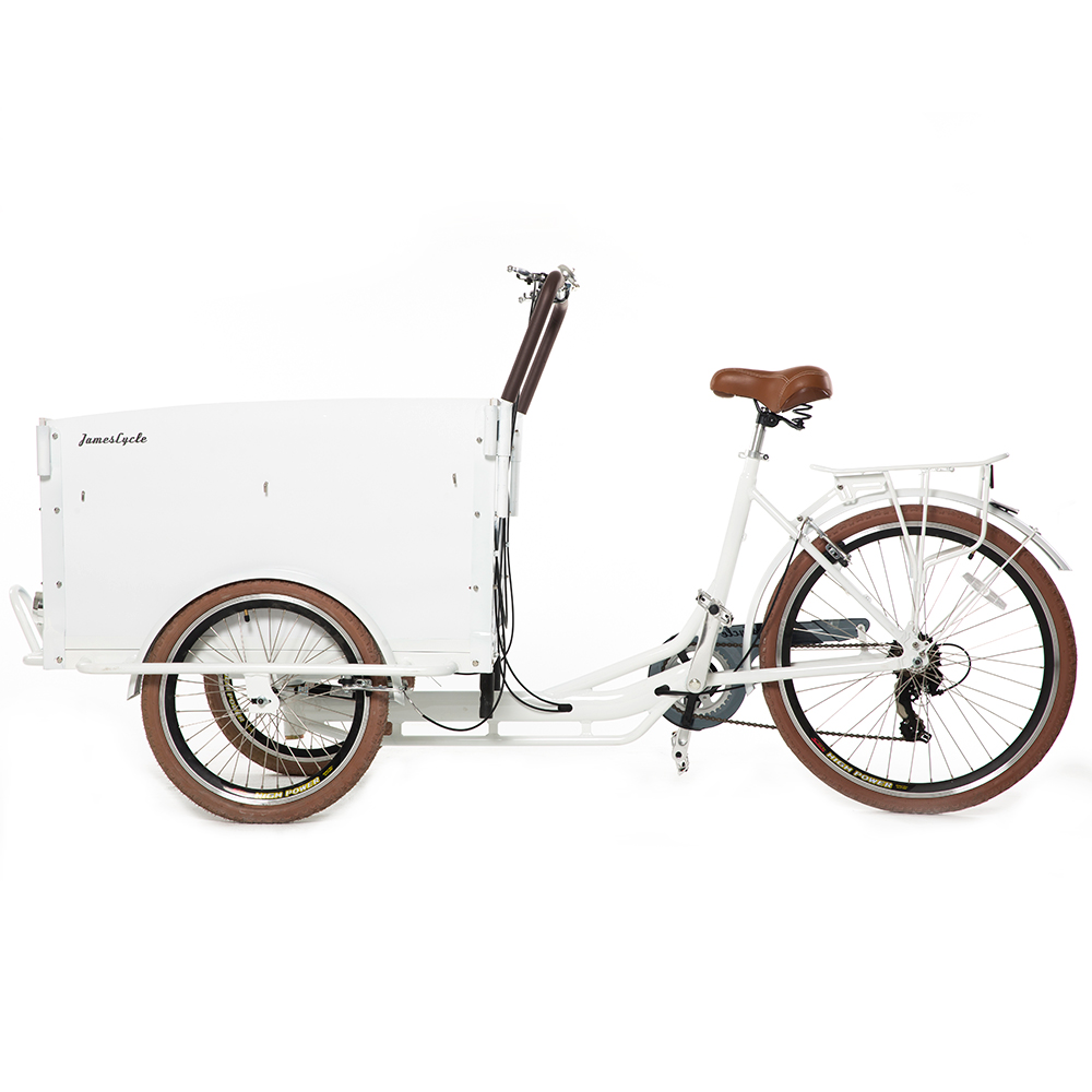 China Electric Cabin Cargo Tricycle Manufactured by Kinlife 34 years Experience in metal fabrication