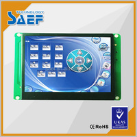 HMI 3.5 inch resolution 320*240 RS232/ TTL/ USB port TFT Serial lcd Module Widely used in many industrial field