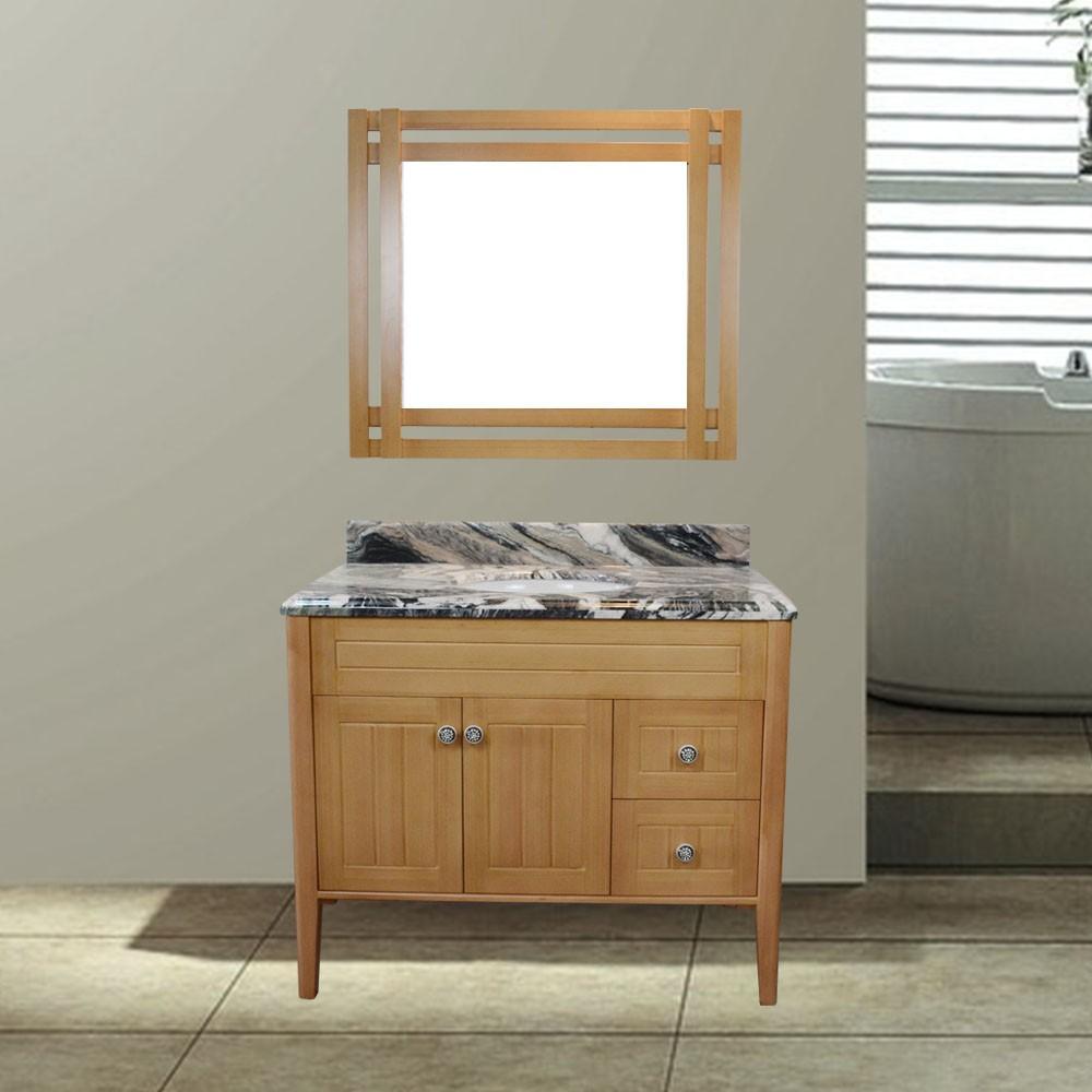 Rusia de lujo de madera maciza muebles de ba o vanidad de - Muebles bano madera maciza ...