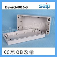 clear soft plastic folding shoe box telecom equipment outdoor cabinet 160*80*55mm