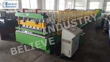 Selling automatic roofing sheet forming equipment for production line
