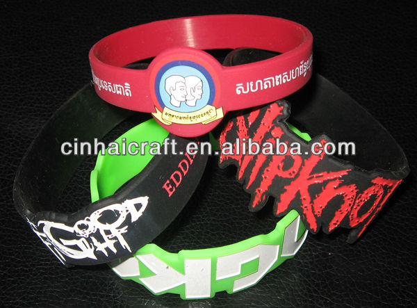 cheap custom made silicone finger band