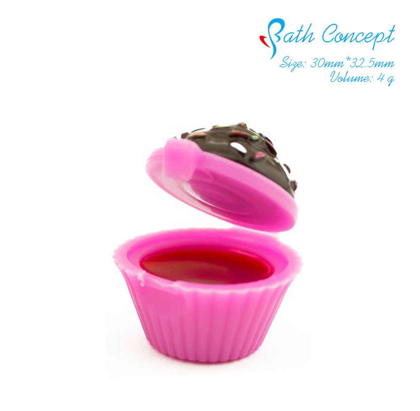 Cute Waterproof Cupcake Lip Gloss 4g
