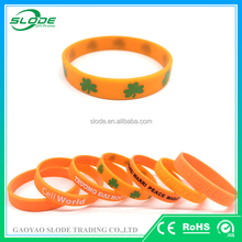 One color printed custom branded wristbands, custom rubber bracelets,good quality custom rubber bracelets