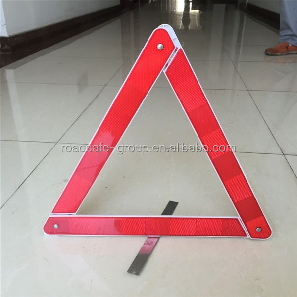 Emergency Early Warning Road Safety Reflective Car triangle road signs