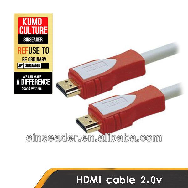 NEW Version hdmi cable hdmi cable 3D/Ethernet 1.4V