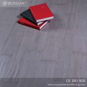 2017 accessories grey handscraped indoor hot sale bamboo flooring