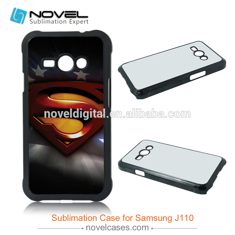 Creative design wholesale sublimation case cell phone for Samsung J110