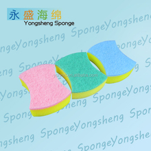 Kitchen Dish Washing Sponges Nylon Scouring Pad