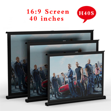 H40S 40inch 16:9 projector screens flexible screen