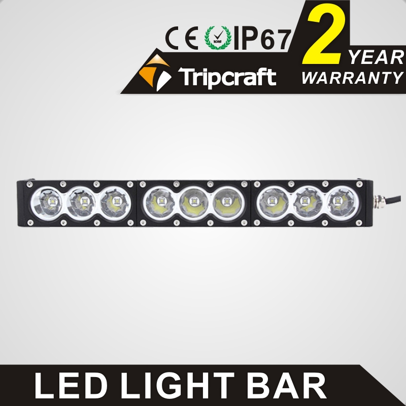 16.6 inch 90W led light bar and car led light bar for trucks, car, SUV, ATV, Machinery, Boat
