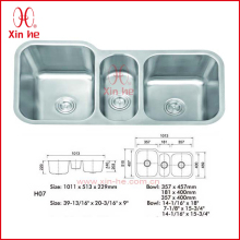 SUS304 insert stainless steel kitchen sink