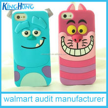 Hot customized silicone mobile phone accessory/cover for Iphone6 , SEDEX, DISNEY & Walmart audit factory