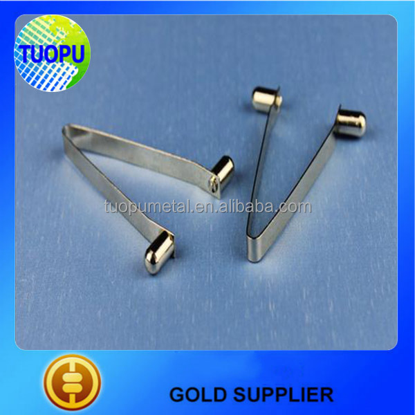 cheap metal V shape spring clip ,metal spring clip for industry