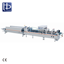 HADE High Quality Automatic Pre-Folding And Bottom Lock Folder Gluer For Carton Box