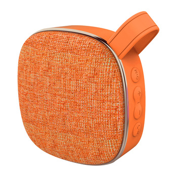 woven fabric speaker waterproof blue tooth speaker fabric cloth speaker