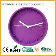 6 inch Silicone Novelty Wall Clock Table Clock