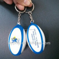 hot sale 4cm small pu foam rugby Key ring manufacturer