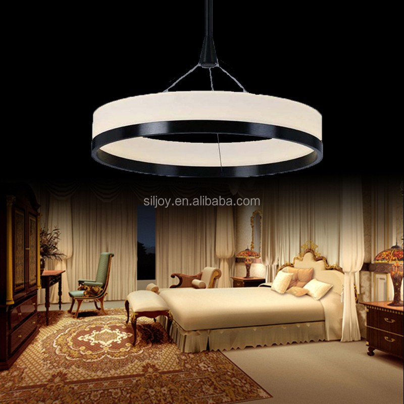 1 Single Ring New Chandeliers Chandelier Acryl Ring Led Circle Chandelier Lamp / Light Fitting Fashion Designer Pendant