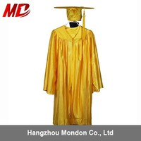 Preschool Graduation Gowns In California Gold Shiny