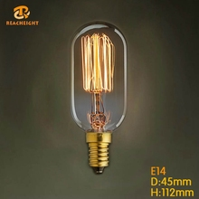 Restraurant Ce Rohs Certificate High Quality Decorative Thomas Edison Light Bulb Fixture