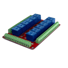 Standard RM12LS <strong>12</strong> Channel 5V 12V 24V Relay Board Expansion Board Low Level