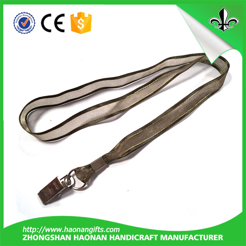 Printed Lanyard With Custom Logo/Cheap Screen Printing Lanyards/Custom Short Lanyard