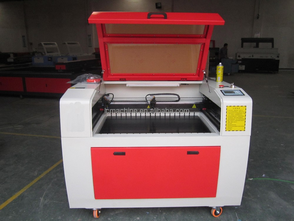 6040 mini size CO2 laser carver for rubber