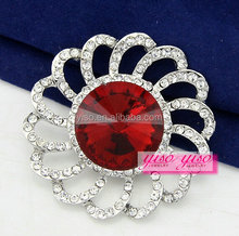 ail express wholesale new design simple style crystal brooch