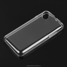 Crystal Clear Transparent Silicone Gel Back Cover TPU Mobile Phone Case for Wiko Sunny