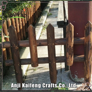 Wooden Fence / Wall Decoration Garden Fence, Wooden Fence