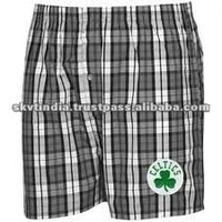 CHEAP MEN'S BOXER/MENS WOVEN PLAID UNDERWEAR