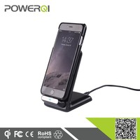 Powerqi i600 Ultra-slim Unique design wireless qi charging case for iPhone with felxible charging plug