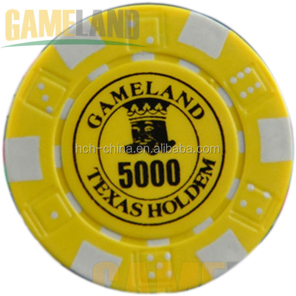 Casino Pro Custom Printed Diced Poker Chips