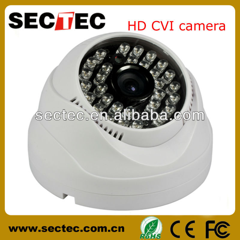 import 1 Megapixel full hd Indoor ir color rotating used low price cctv camera with cat6 cable for sale