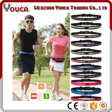2017 hot sale wholesale waterproof travelling bag lycra Running waist bag