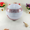 Decorative large metal round ball promotional candy storage tin container