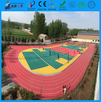 cheap outdoor waterproof interlocking flooring for outdoor sports court