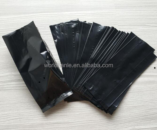 Various sizes available LDPE material farm usage plastic tree planting bag,durable and cheap